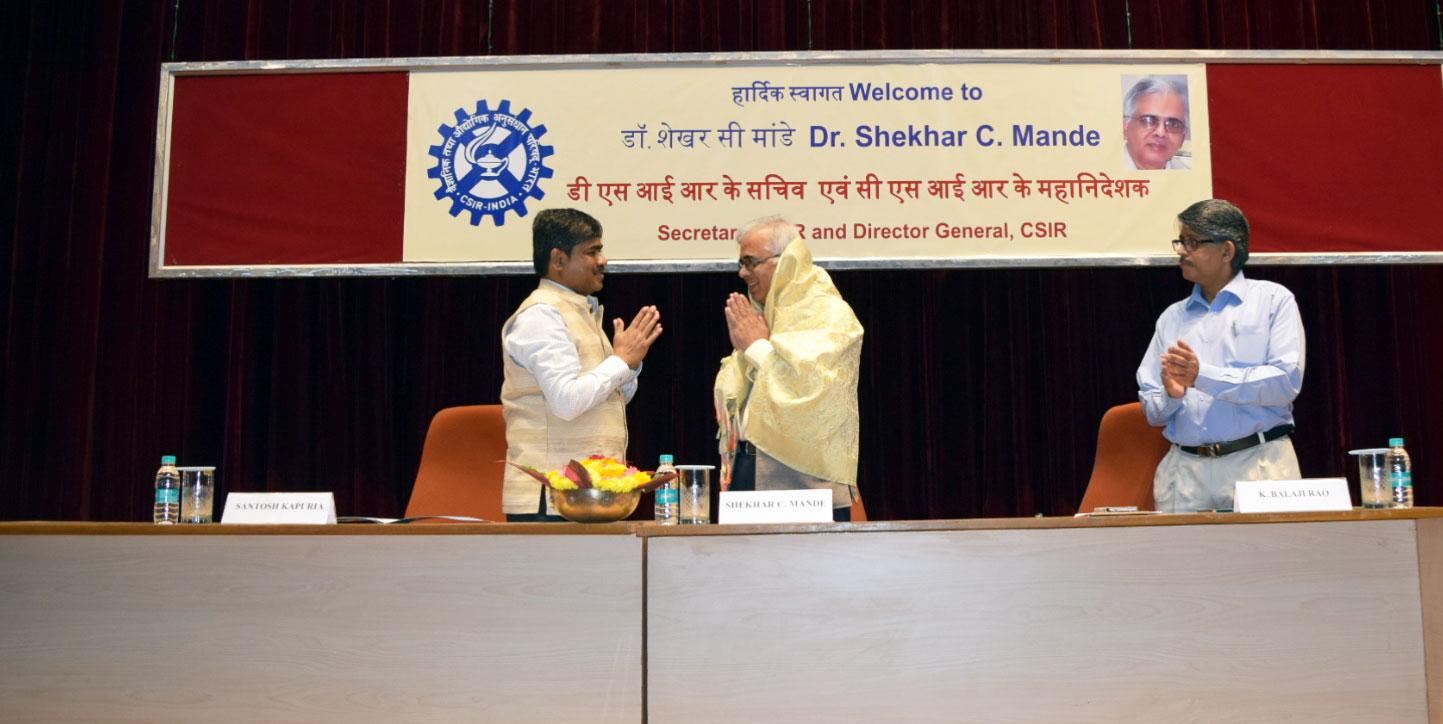 DG's visit to CSIR - SERC