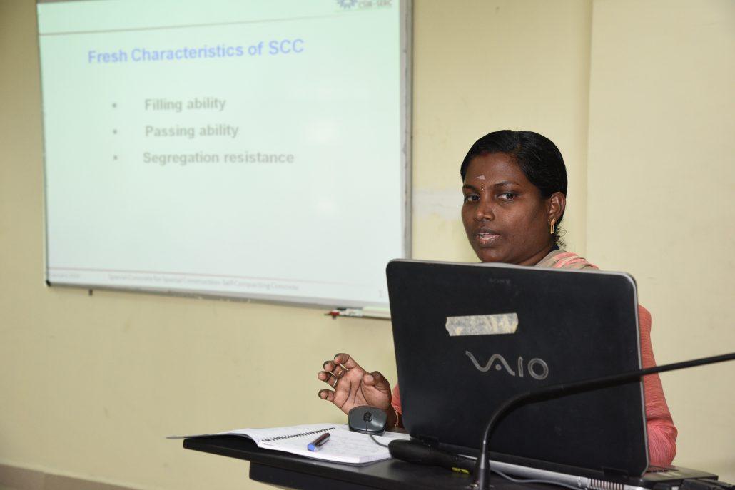 .कंक्रीट संरचनाओं के  कंक्रीट प्रौद्योगिकी और टिकाऊपन में अभिनव प्रगति विषय पर प्रगत पाठ्यक्रम (RACT & DCS 2018)