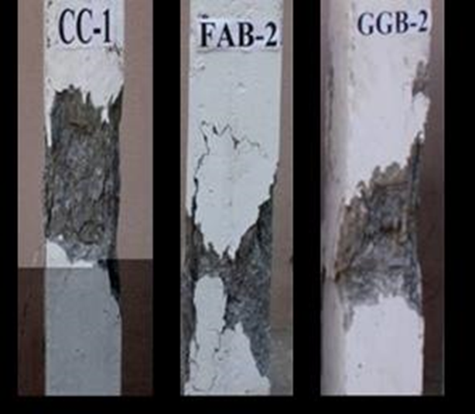 Development of Advanced Composite Construction Materials and Methodologies for Assessment of Durability Related Parameters