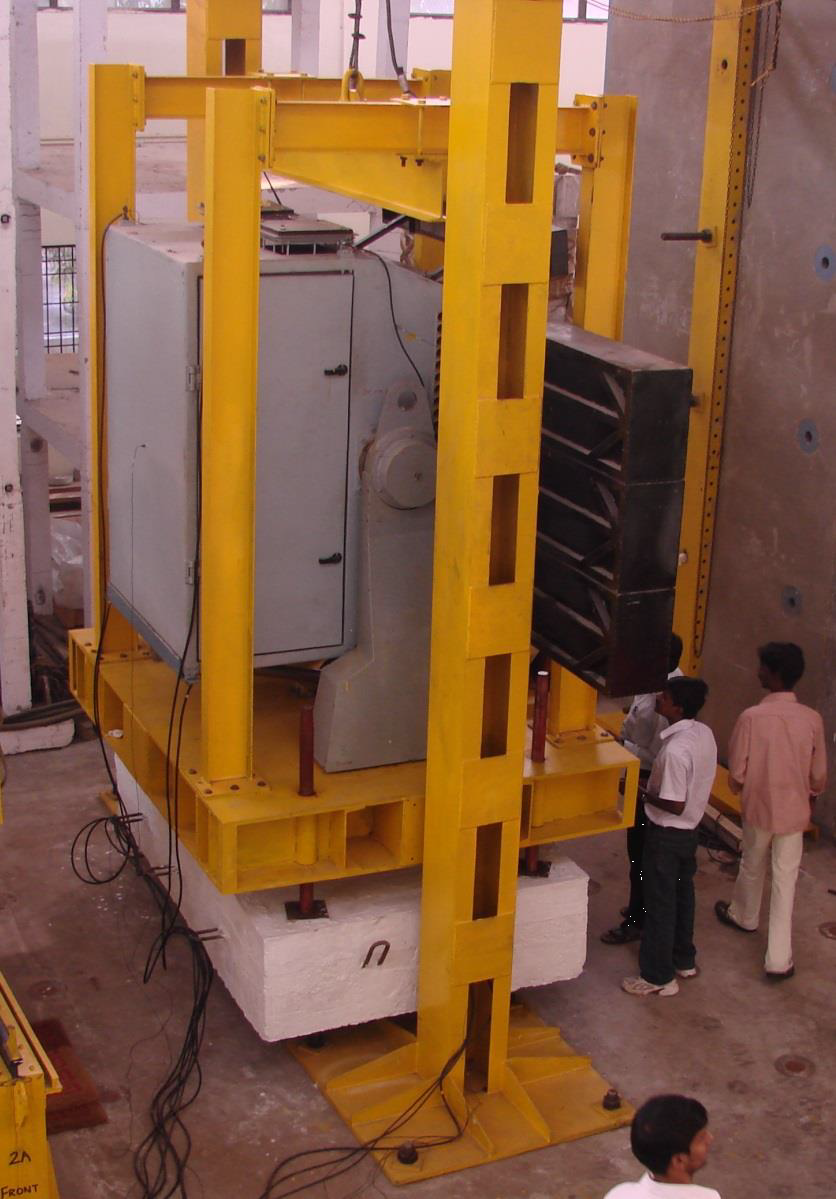 Impact Load Testing of First Indian All-Composite Revathi Antenna