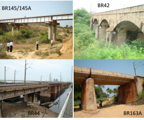 Performance evaluation of typical railway bridges under increased axle loads of freight wagons