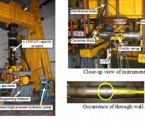 Studies on ratcheting behaviour of pressurised pipes and elbows