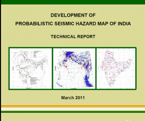 Preparation of book based on the report of CSIR-SERC-NDMA Project 'Development of Seismic Hazard Map of India
