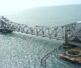 Load Testing of Pamban Bridge