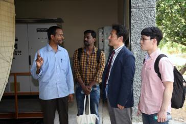 Visit of Dr. Chang Woo, Director, CSTEP, Dept. of Chemical E...