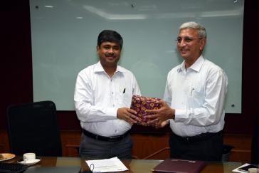 MoU between CSIR-SERC, Chennai and IIT, Tirupathi