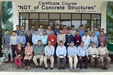 Certificate Course on NDT of Concrete Structures (4th -24th...