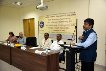 Inauguration Function of Workshop on Team Building, Work Exc...